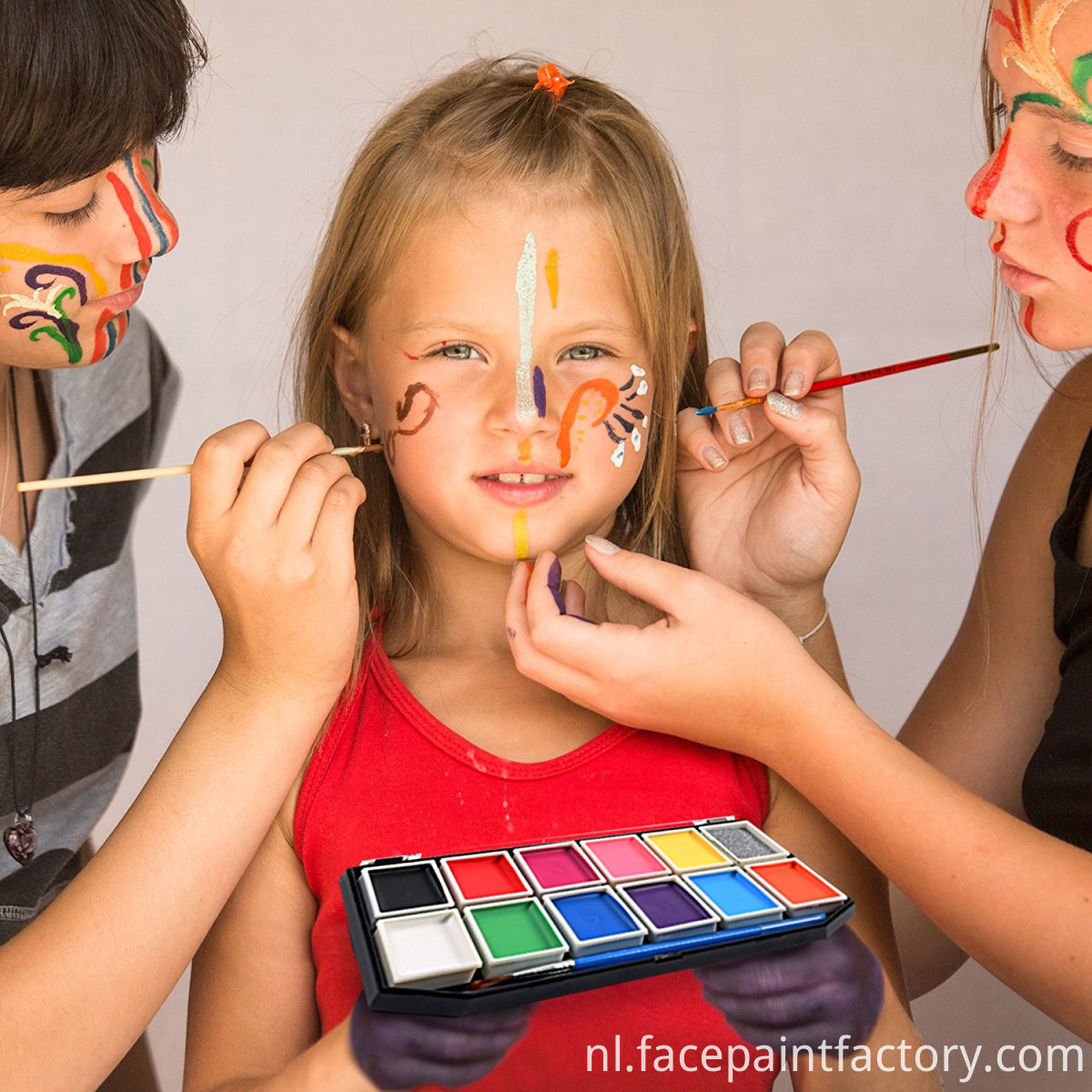 Tube Packs Face Paint