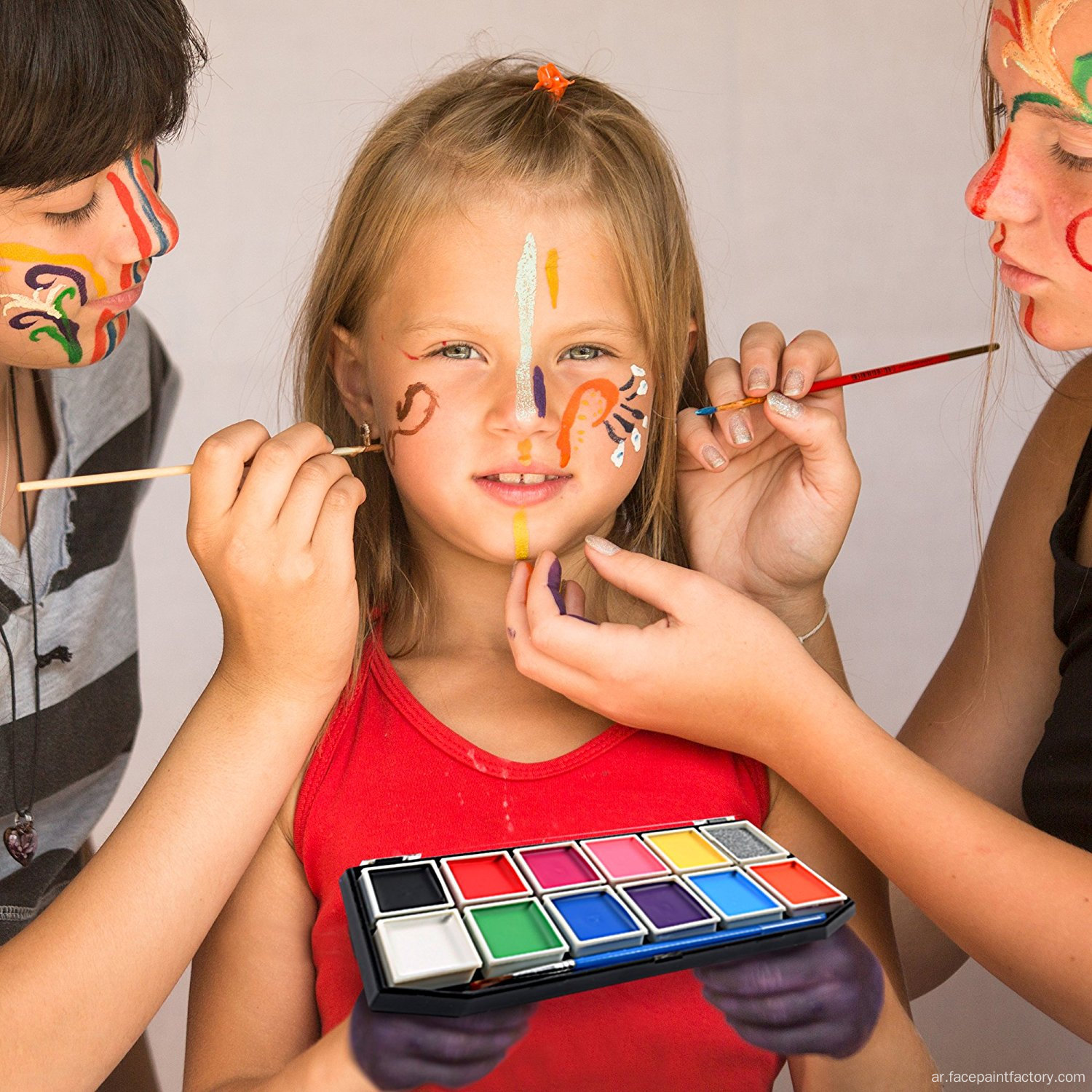 FDA Food Grade Rainbow Party Face Paint