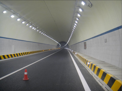 Application in the tunnel of Flood Light