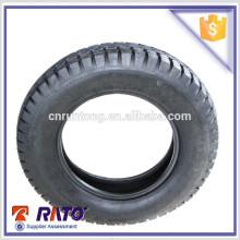4.50-12 de alta calidad de caucho natural China barato neumático de la motocicleta