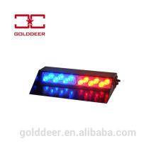 Luz de parabrisas de vehículos de emergencia auto luces azul y rojo