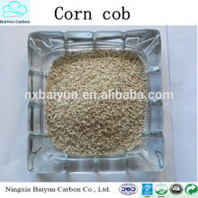 polishing/abrasive/oil remove corn cob grits