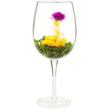 Chás de florescência do jasmim natural com sabor e pacote do fruto do OEM