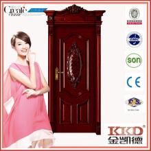 Puerta compuesta de madera sólida MD-521T para uso Interior