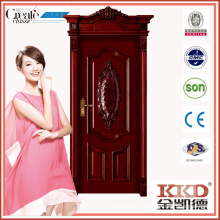 Composite Solid Wooden Door MD-521T for Interior Use