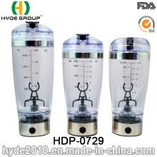 Botella popular de la coctelera de Vortex de la carga del USB 600ml, botella eléctrica plástica libre de la coctelera de la proteína de BPA (HDP-0729)
