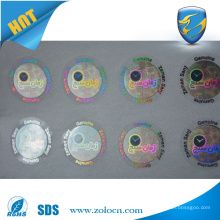 laser Hologram sticker label, Anti-counterfeit anti-fake label ,anti-theft adhesive sticker
