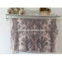 fashion print voile scarf designer scarf wholesale china