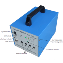 Sistema solar portátil original da fábrica 30W da fábrica para a área deficiente da eletricidade