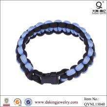 2013 Produkt Stoff Armband Vners geflochtene Link überleben Armband