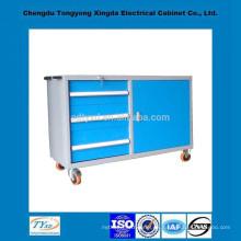 Cabina comercial móvil del metal del metal de encargo de la calidad superior iso9001 del OEM directo de la fábrica