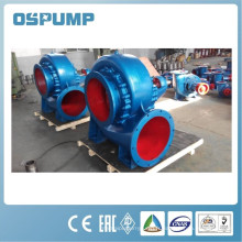 Pompe mélangée centrifuge horizontale d'écoulement / pompe à écoulement mélangé de moteur diesel / pompe centrifuge horizontale