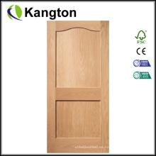 El último diseño puerta de madera de alta calidad (puerta de madera)