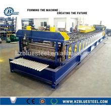 Corrugated Aluminum Zinc Plate Roof Sheet Profile Roll Forming Machine