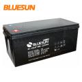 Батарея глубокого цикла Bluesun 12v 65ah 150ah 200ah солнечная гелевая батарея для телекоммуникационной башни