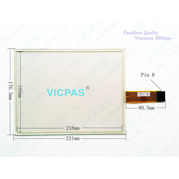 2711P-T10C22D9P Touch Screen Panel Glass with Protective film