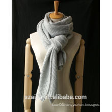 Fashion new winter solid knitted long scraf