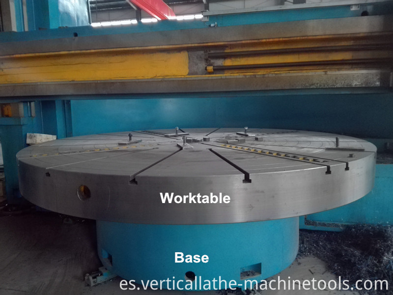 Vertical cnc lathe machine
