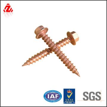 China Hersteller Kupfer Vollgewinde Schraube und Verschluss
