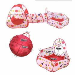 Play House Tent Tunnel Indoor Outdoor