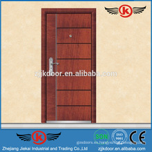 JK-A9020 diseños de puertas blindadas de chapa de madera