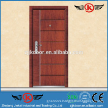 JK-A9020 steel armored wood veneer door designs