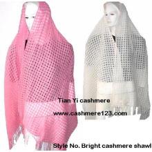 Kaschmir gewebte leichte Schals
