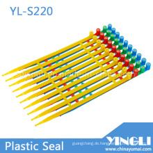 Mittlere Sicherheitsdichtungen mit fester Länge und eingesetzter Verriegelung (YL-S220)