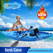 2014 Onefeng newest single kayak,professional Sit on top kayak,fishing kayak