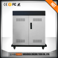 Mobile android system tablet pc charging cabinet and storage cart