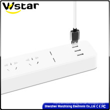 250V Electrical Extension Socket with LED