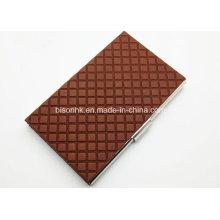 Porte-cartes de visite en cuir fabriqué en usine