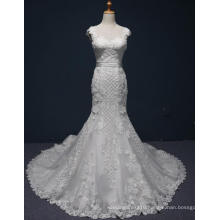 High Quality Lace Mermaid Prom Eevening Bridal Wedding Gown