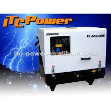 Супер тихий (65dB) DG6000SE 5kva тихий дизельный генератор цена главная