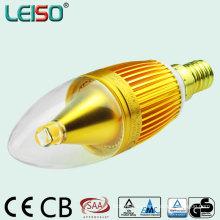 Alumium Housing CREE 5W 400lm C35 Luz de la vela (leiso A)