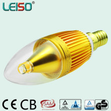 Alumium CREE 5W 400lm C35 Candle Light (leiso A)