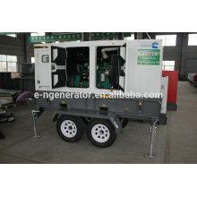дизельный генератор на прицепе производитель EN POWER