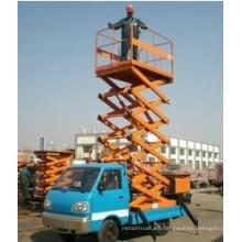 Plataforma elevadora de tijera hidráulica montada sobre camión Sh012