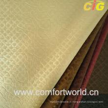 Cuir décoratif semi-PU (SAPU03927)