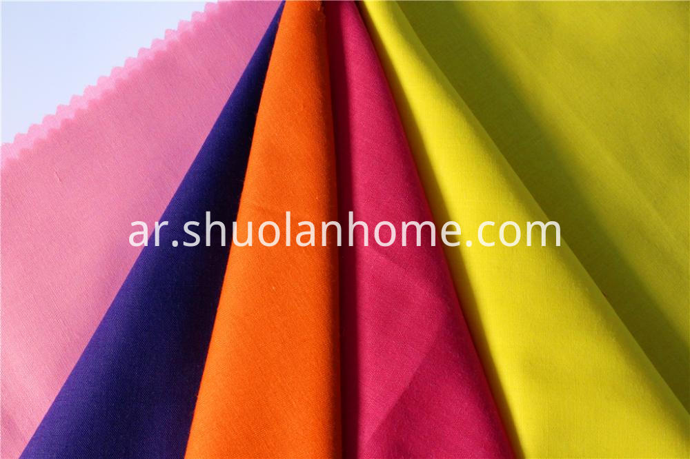 Polyester Cotton Fabric Dyed Fabric