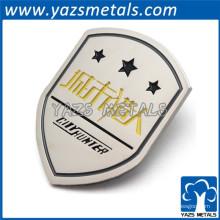 pinos de roupa de logotipo de metal de alta qualidade