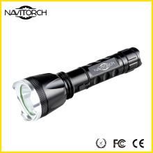 3 modos linterna de zoom, 260lumens linterna LED, linterna recargable (NK-1867)