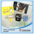 Caixas plásticas do empacotamento do vinho do PVC / animal de estimação / PP
