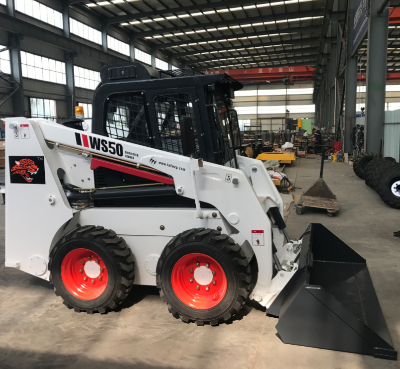Wheel Type Skid Steer Loader With Cheap Price