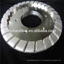 roue de liaison en résine diamantée électrolytique pour meuler le verre