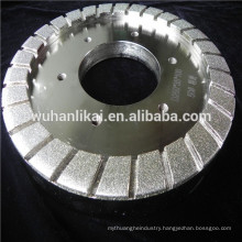 electroplated diamond resin bond wheel for grinding glass