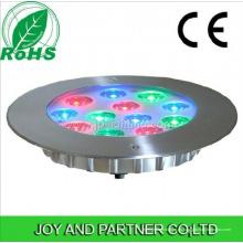 Luces asimétricas de la piscina del RGB LED 12W (JP948123-AS)