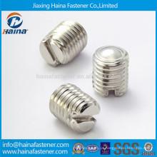 DIN551 Parafuso de fixação de aço inoxidável com cabeça plana