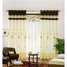 Nuevo tyle con cortinas de algodón de alta calidad 100% hechas en cortinas de cortinas de poliéster de China