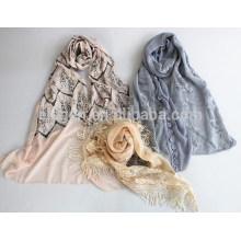 Bufanda femenina del cordón de la manera